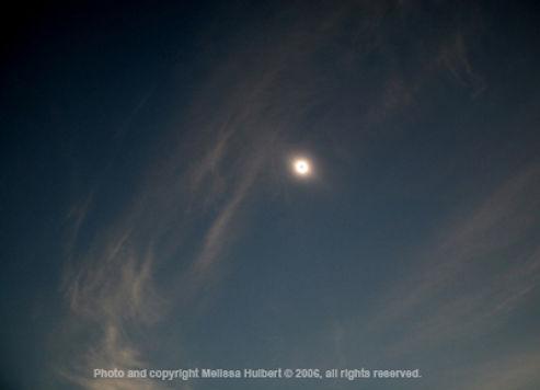 Side Turkey Solar Eclipse 29 March 2006