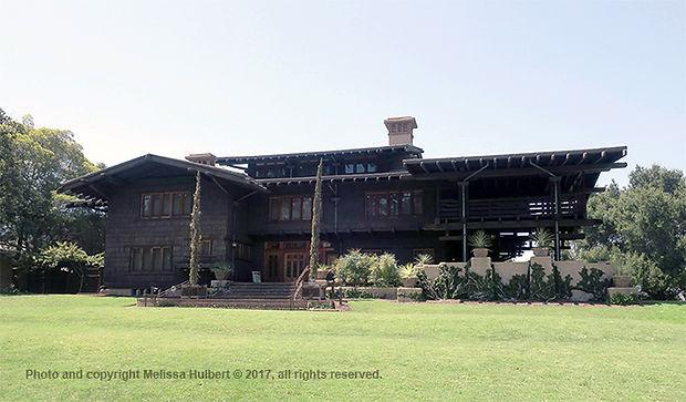 Gamble House-Pasadena-Los angeles-USA-w.