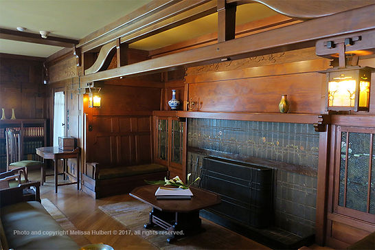Inside Gamble House-Pasadena-Los angeles