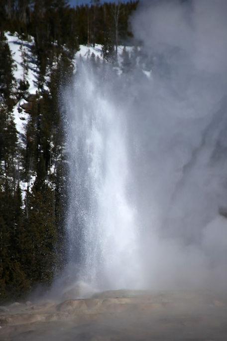 Old Faithful Geyser-Yellowstone National