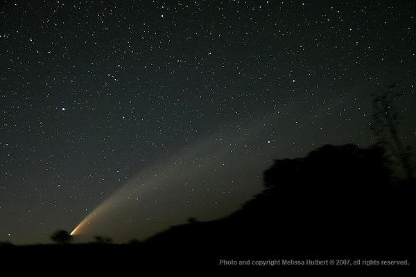 410-Comet McNaught-morning-28Jan07-w.jpg