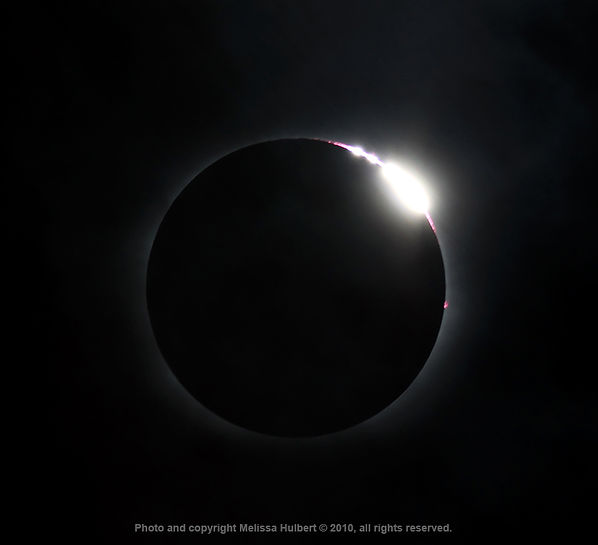 Totality with Baileys Beads - 11 July 20