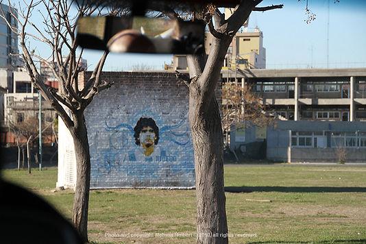 Maradona Painting_Buenos Aires_Argentina