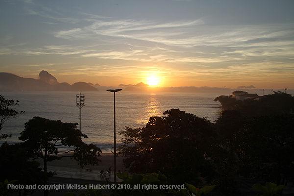 Sunrise-Copacabana Beach-Rio de Janeiro-