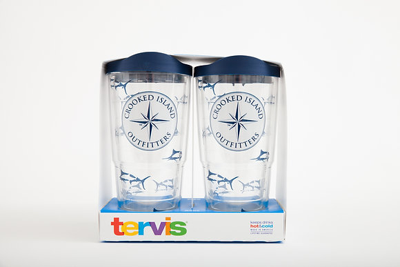 2 Pack Crooked Island Outfitters Tervis