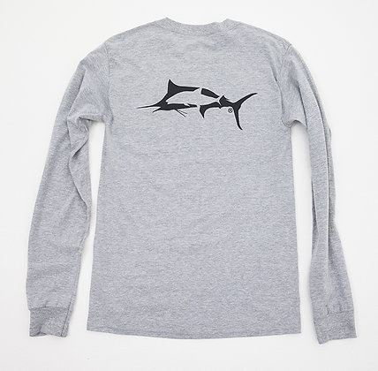 Crooked Fish Long Sleeve T's