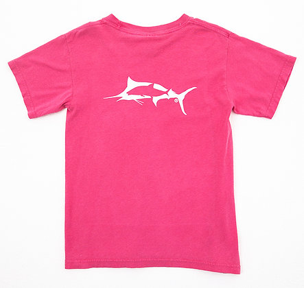 Kids Crooked Fish T's