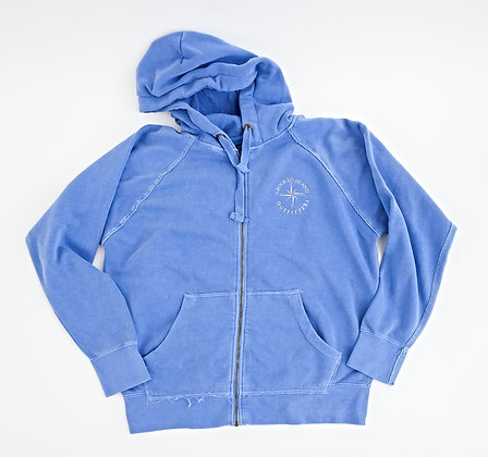 Crooked Hooded Sweatshirt Full Zip
