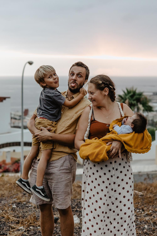 naturalna sesja rodzinna teneryfa