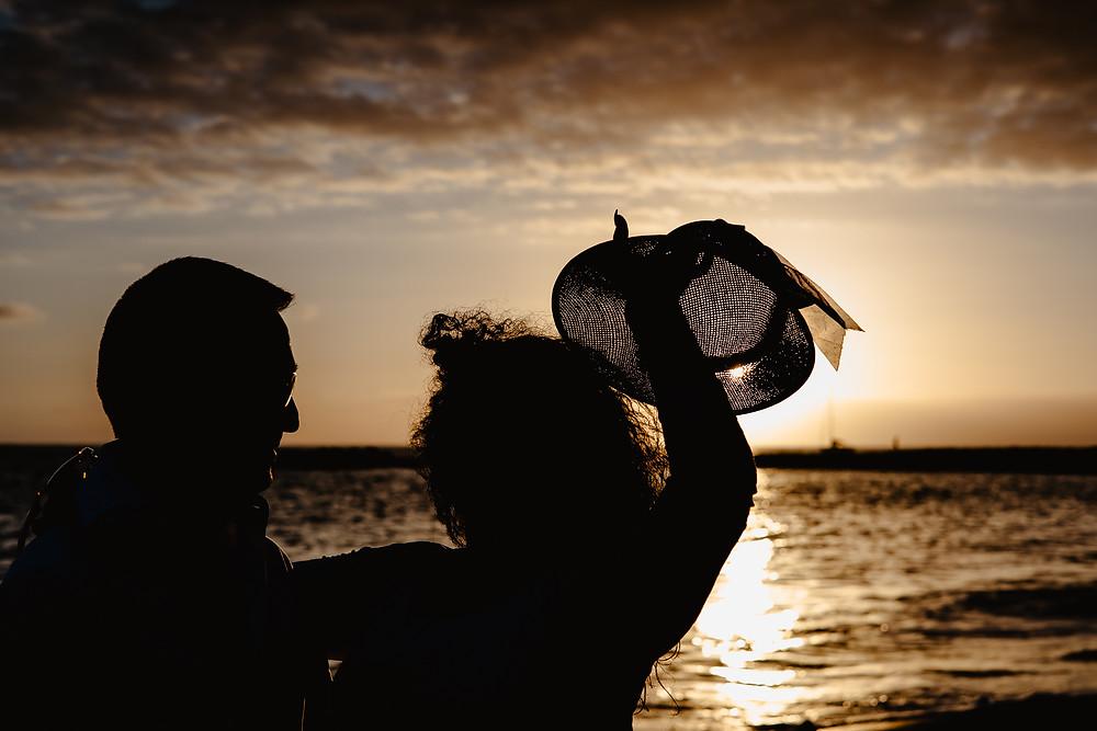 sesja nad morzem o zachodzie slonca fotograf teneryfa