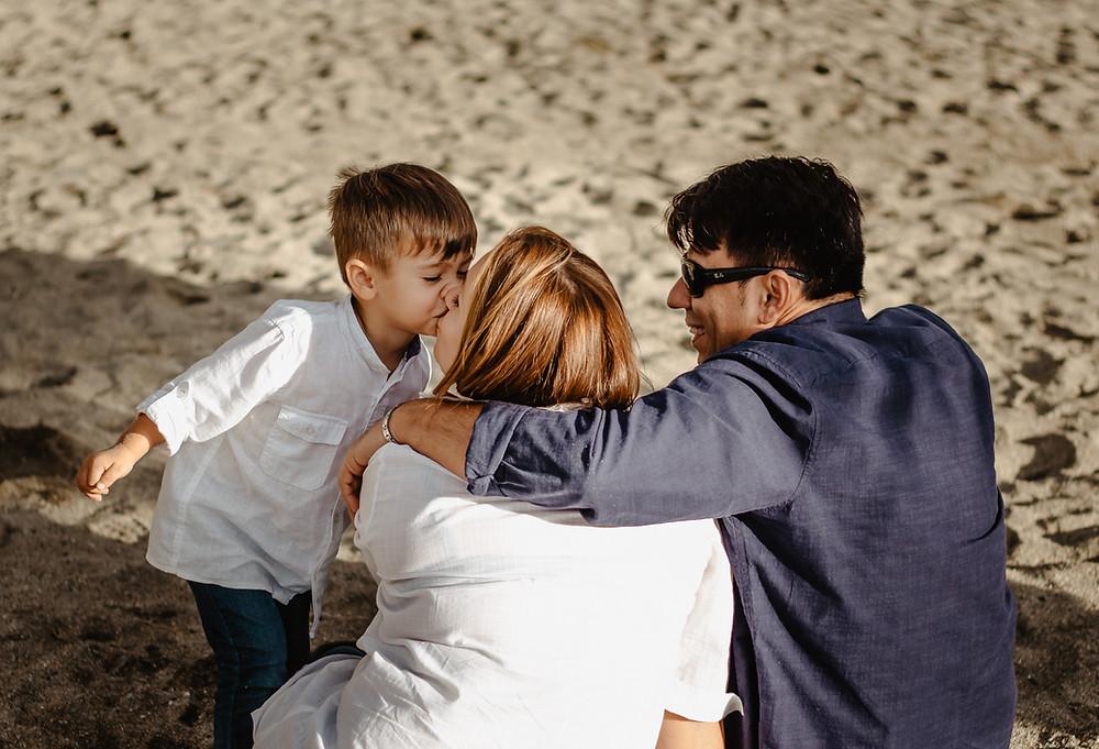 Sesja zdjęciowa Teneryfa, sesja rodzinna na plaży