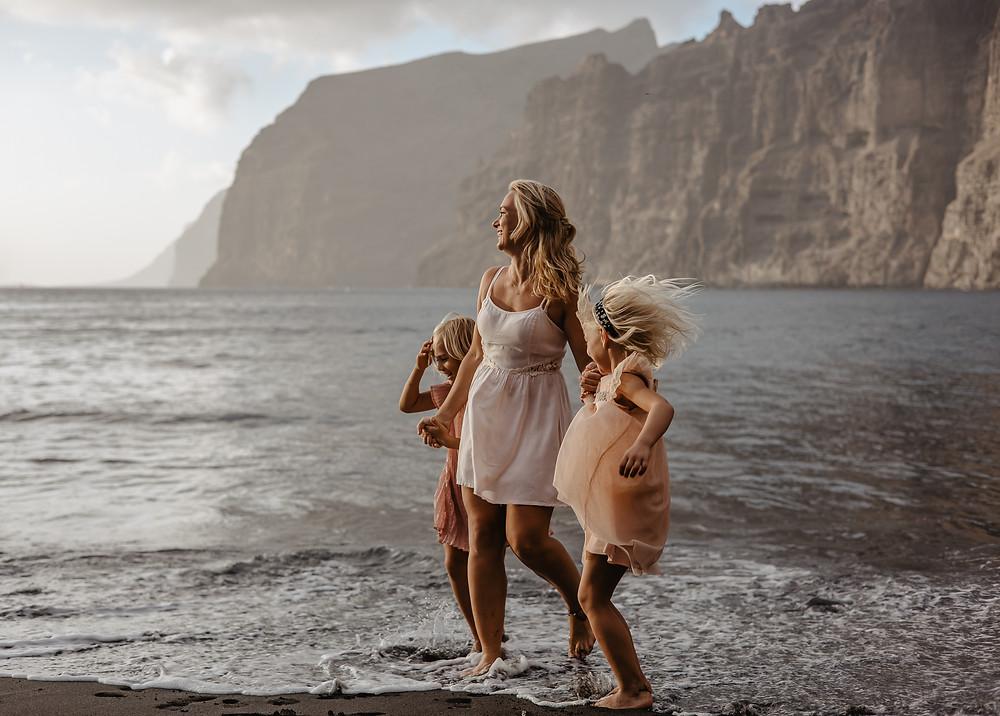 zabawa nad morzem co zobaczyc na Teneryfie klify gigantes, Kamila Zienkiewicz Fotografia