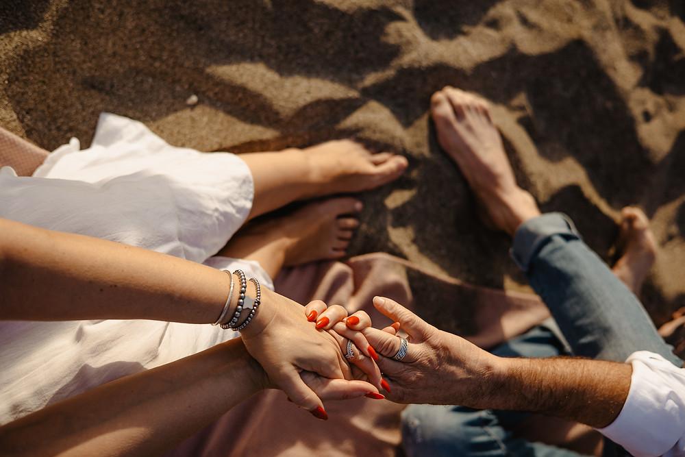 sesja piknik na plazy teneryfa nad morzem kamila zienkiewicz