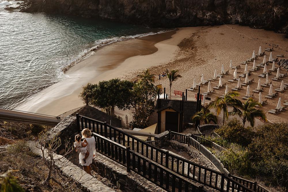 sesja teneryfa rodzinna na plazy abama