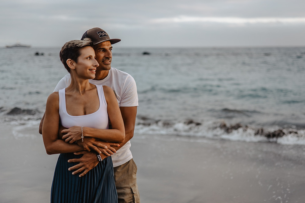 couple's session in tenerife canary islands