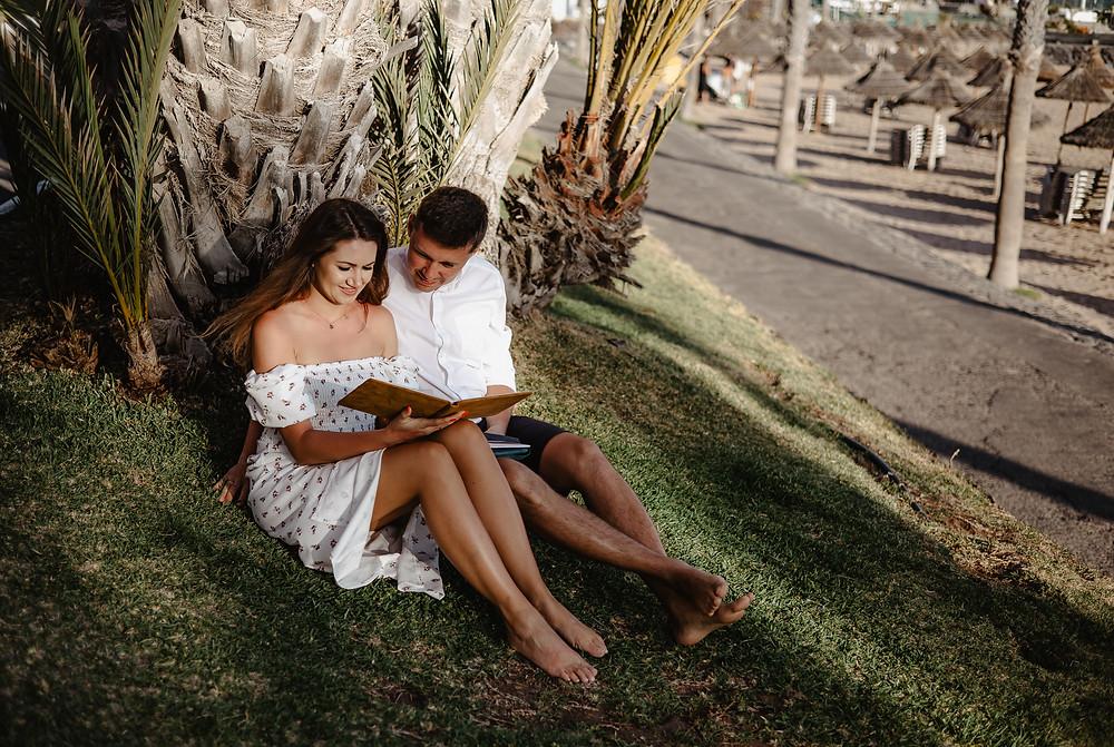 sesja dla par na teneryfie las americas, fotoalbumy na zdjecia