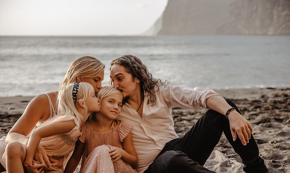 sesja rodzinna teneryfa fotografia Kamila Zienkiewicz