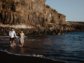 Sesión de pareja en Tenerife