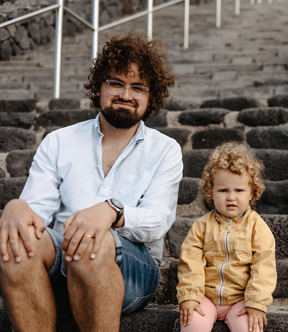 tata i córka sesja zdjeciowa teneryfa kamila zienkiewicz