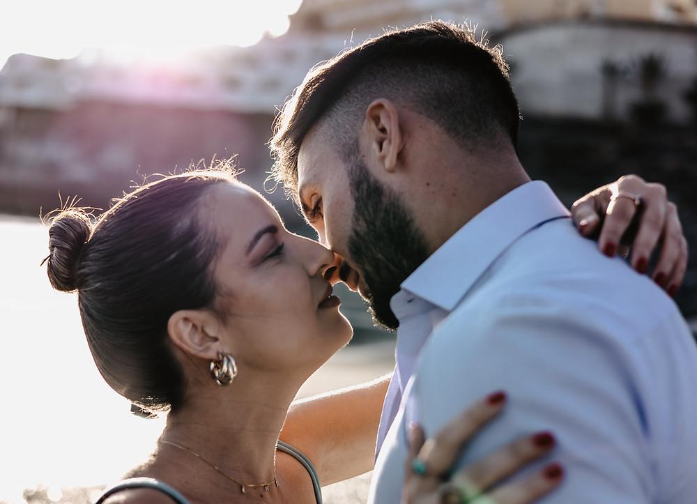 romantyczna sesja zdjeciowa pary na plazy teneryfa