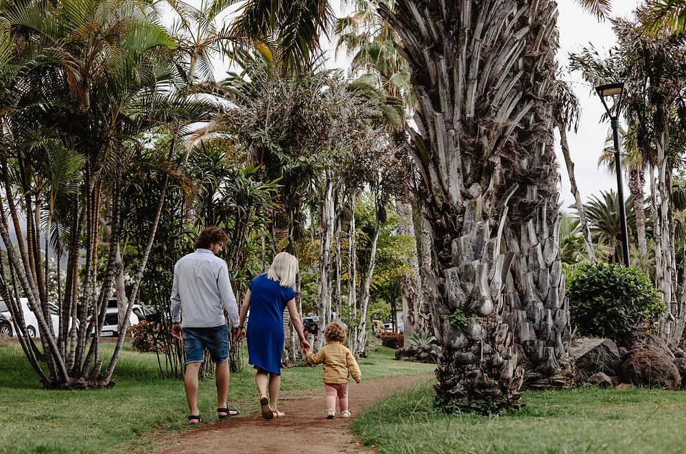 spacer wsord palm, teneryfa wyspy kanaryjskie fotograf