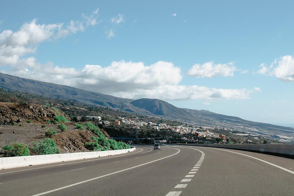 Autostrada na Teneryfie, sesja fotograficzna