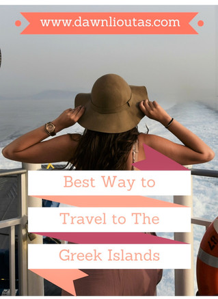 Best Way to Travel to The Greek Islands