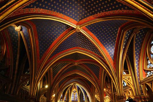Sainte chapelle Paris, four