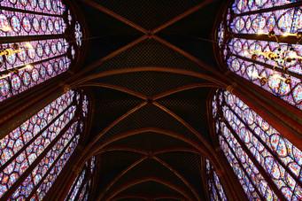 Sainte chapelle Paris, one