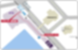 大阪会場、トレードセンター前駅からの地図.png