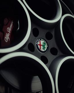 Alfa Romeo Stelvio velje detail