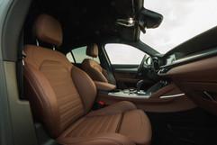 Alfa Romeo interjöör