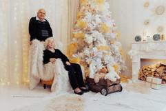 Jõulufotod stuudios