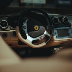 Ferrari California interjöör
