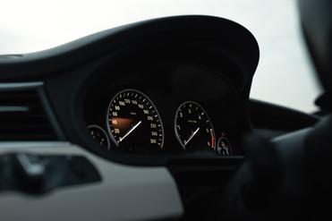 BMW Gran Coupe spidomeeter