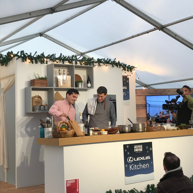 BBC Good Food Festive Fayre 2019 with Marcus Bean