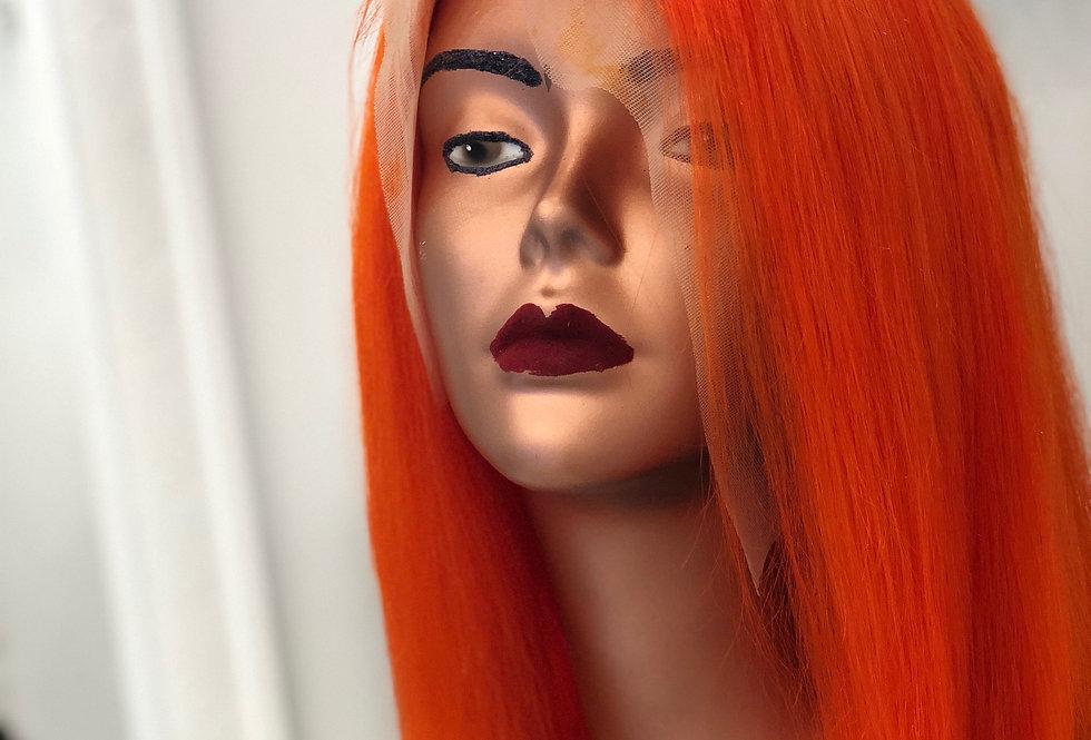 Orange Custom Wig
