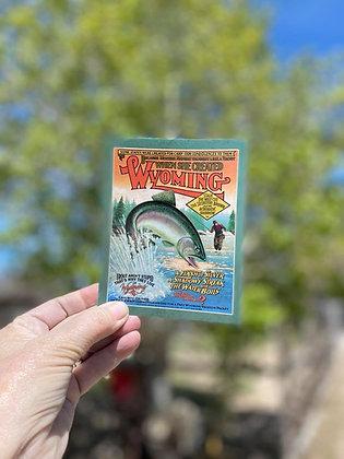 Fish Bumper Sticker (W)