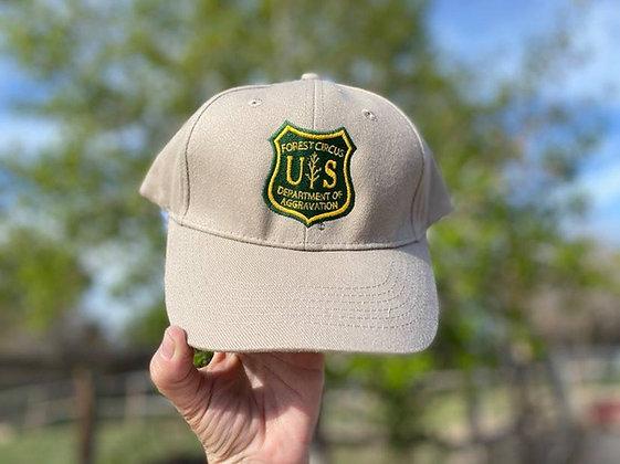 Khaki Structured Hat