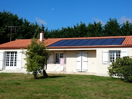 Aubigny, une rénovation éco-performante avec le soleil, l'air, l'eau et le bois.