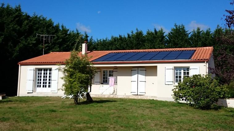 Solaire photovoltaïque-thermique aérovoltaïque