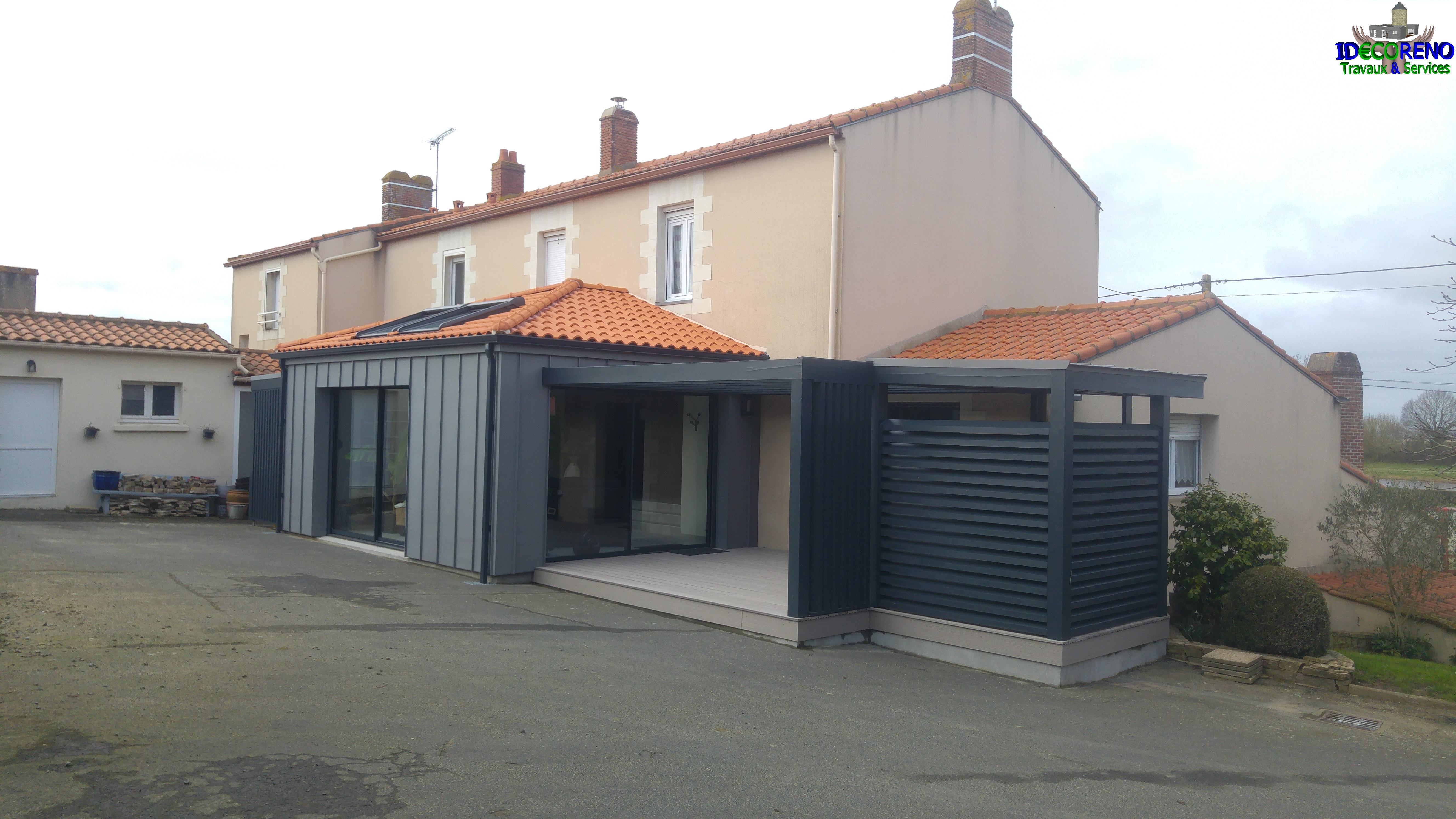 Extension-construction-ossature-bois
