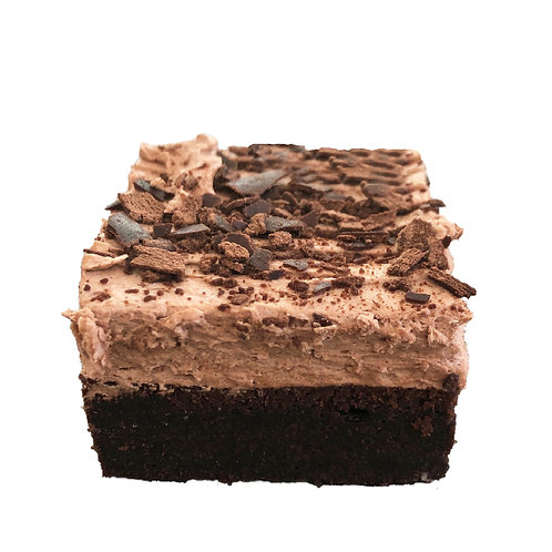 Decadent Chocolate Gluten Free Cake Squares - pack of 12