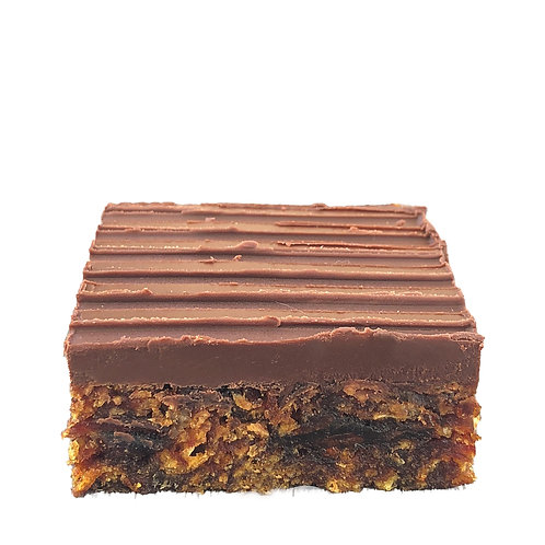 Date Ginger & Chocolate Gluten Free Slice - pack of 12