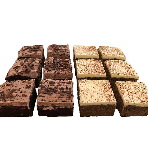 Cake Squares Gluten Free Mixed Pack - pack of 12