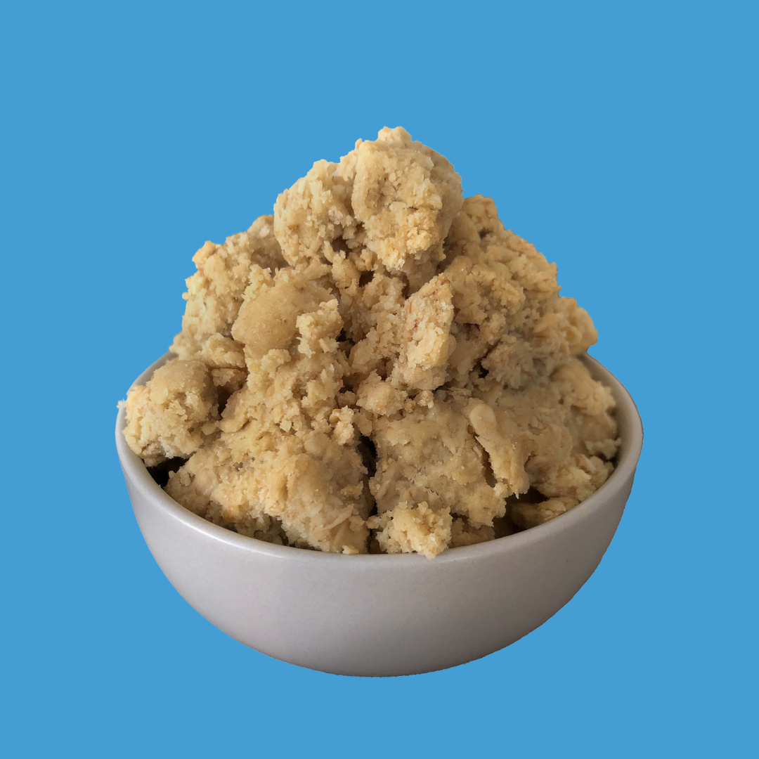 Gingerbread Kisses Cookie Dough