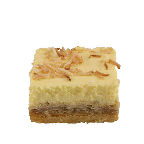 Lemon & Coconut Slice - pack of 12