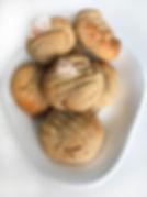 Gingerbread Kisses Cookie Dough