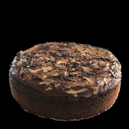 Decadent Chocolate Banana Cake