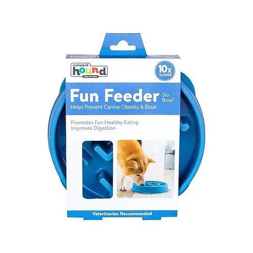 Fun Feeder Notch Blue - Large by Outward Hound